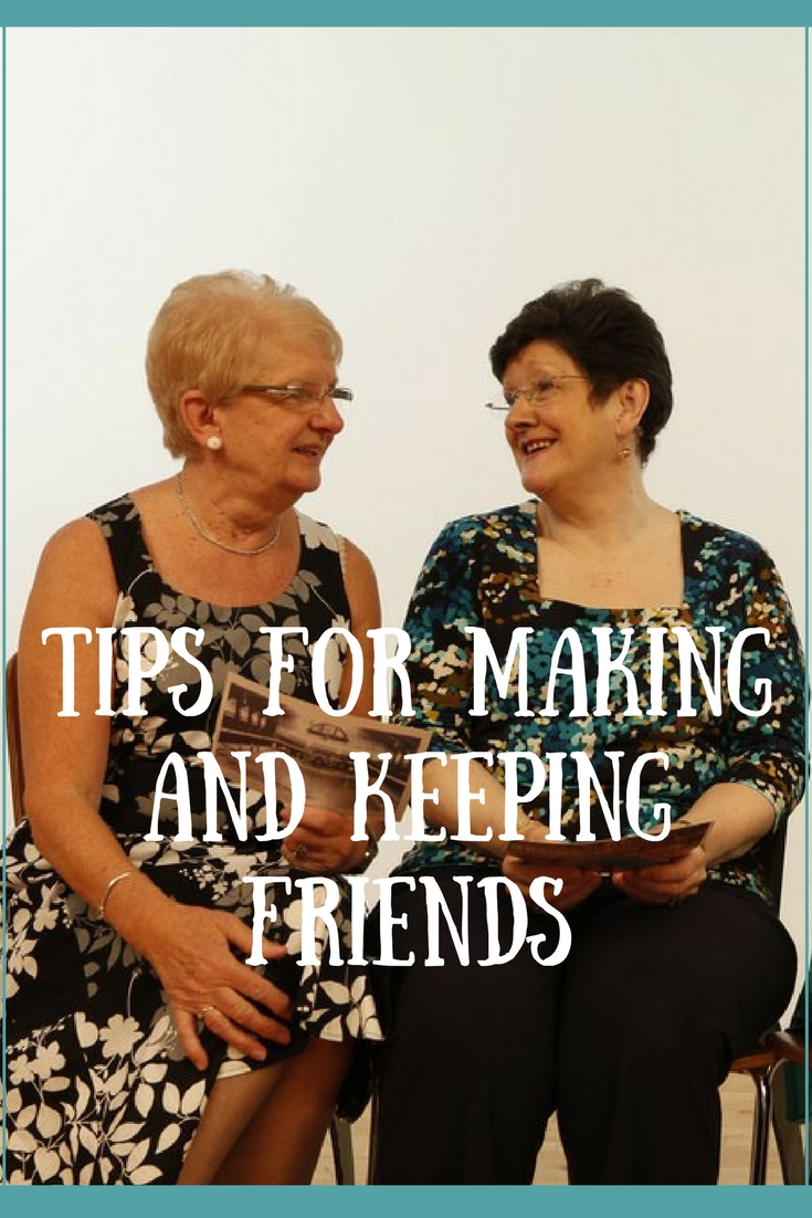 Tips for making and keeping friends without compromise